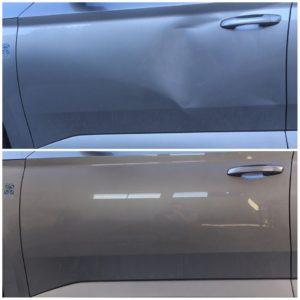 Reparatii lovituri cauzate de grindina prin metoda Paintless Dent Repair - PDR Cluj